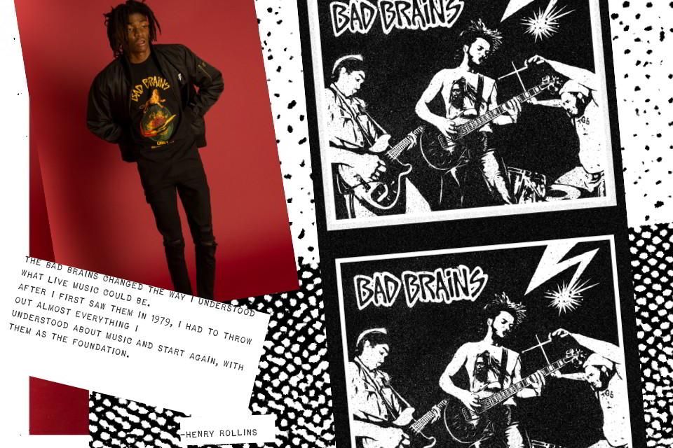 obey clothing bad brains capsula 04 - Obey colabora com os pais do hardcore/punk